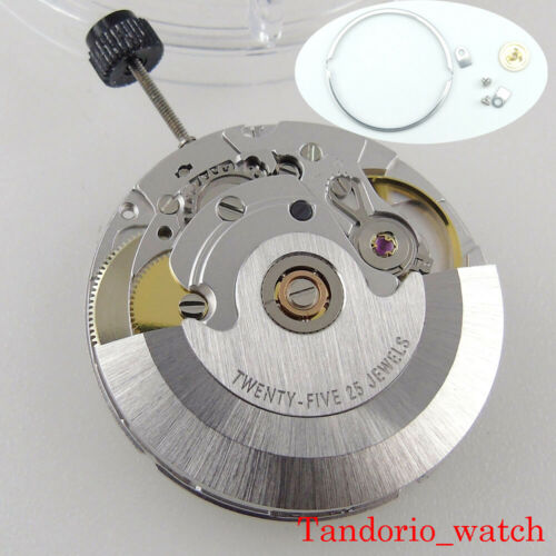 Original 25 Jewels PT5000 New Automatic Movement High Precision With Datewheel