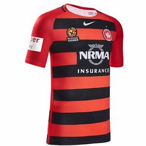 WESTERN SYDNEY WANDERERS 2016/17 HOME JERSEY BRAND NEW Werrington County Penrith Area Preview