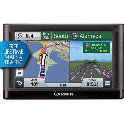 Garmin Nuvi 55Lmt Gps Navigation North America With Lifetime Maps And Traffic