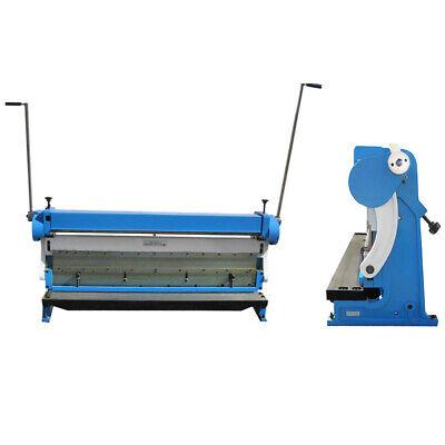 Industrial 52 X 16 Gauge 3-in1 Sheet Metal Shear Brake Slip Roll Bender Pan Box