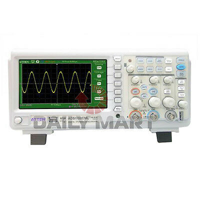 New Atten Ads1102cml 100mhz Digital Storage Oscilloscope