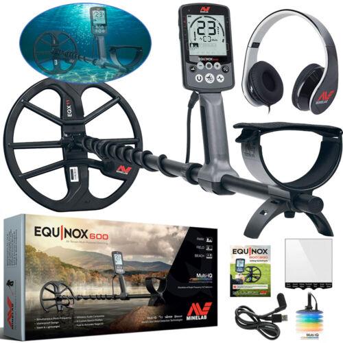 NEW, IN-HOUSE DEMO Minelab EQUINOX 600 Metal Detectorr, Headphones, Multi-Freq.