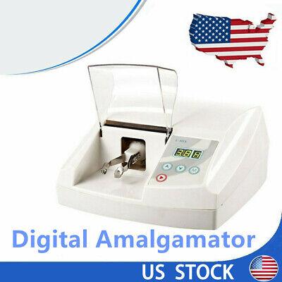 Digital Amalgamator Lcd Dental Lab Equipment Capsule Mixer Mixing System 110v Us