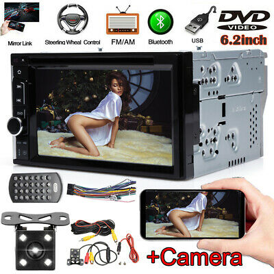for Toyota Hilux RAV4 Corolla Camry Tundra DVD Player Radio Stereo+Backup Camera