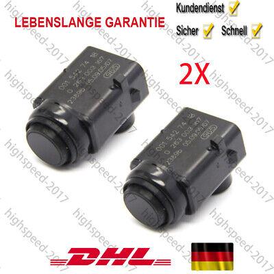 2* Parksensor PDC Sensor Einparkhilfe 0015427418 für Mercedes-Benz W203 Neu