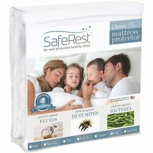 SafeRest-Classic-Hypoallergenic-Waterproof-Mattress-Protector