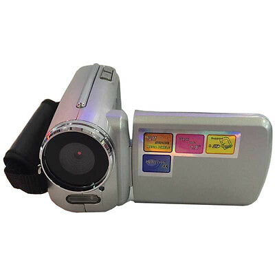 Silver Mini DV Camcorder 4xZoom 1.8 inch LCD Video Camera Best Kids Gift