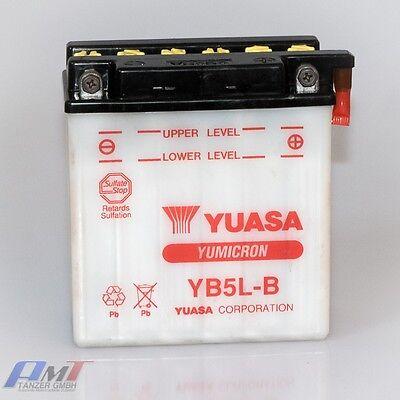 Yuasa Batterie YB5L-B  12V 5AH Motorradbatterie