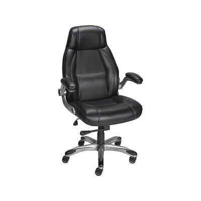 Staples Torrent Bonded Leather Managers Chair Black 923571