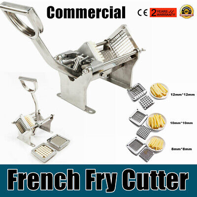 Commercial Potato French Fry Fruit Vegetable Cutter Slicer Quality Etra Blades