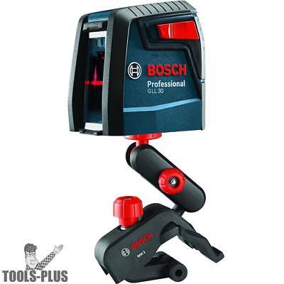 Bosch Gll30 30 Self-leveling Cross-line Laser New