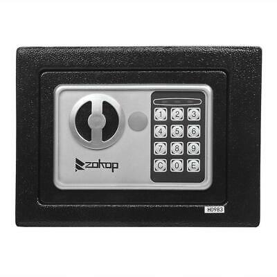Digital Electronic Home High Security Keypad Lock Wall Jewelry Gun Cash Safe Box