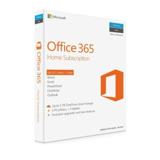 MICROSOFT Office 365 Home 5 devices 1 year