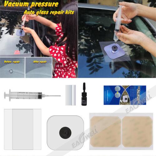 Car Windshield Windscreen Glass Scratch Chip Crack SET Car Repair Tools DIY KIT