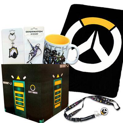 Overwatch Gift Box Bundle with Loot Box & Overwatch Fleece Blanket, Mug & More