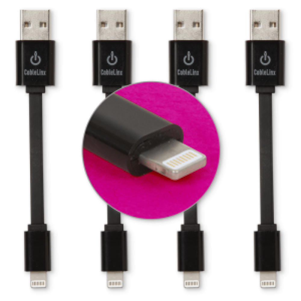 CableLinx Value Pack of  Lightning Connector to USB Charge &