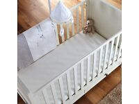 Silvercross posture start comfort plus cotbed mattress
