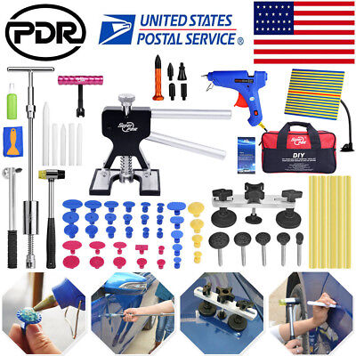 Paintless Dent Removal Puller Lifter PDR Tools Line Board Repair Hammer Hail -