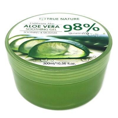 Aloe Vera Gel Facial Body Skin Care - Soothing Moisture 300ml 10.58oz