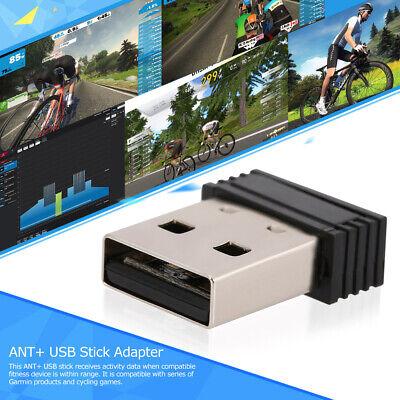 ANT+ USB Stick Adapter for Garmin Forerunner Zwift TrainerRoad Perf Studio Y1G8