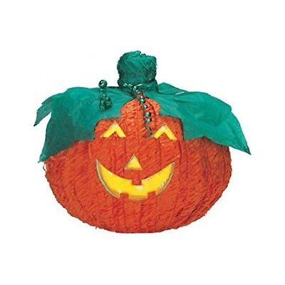 Amscan Halloween Pinata - Jack O Lantern - O Pumpkin Decoration Game - Traditional Halloween Party Games