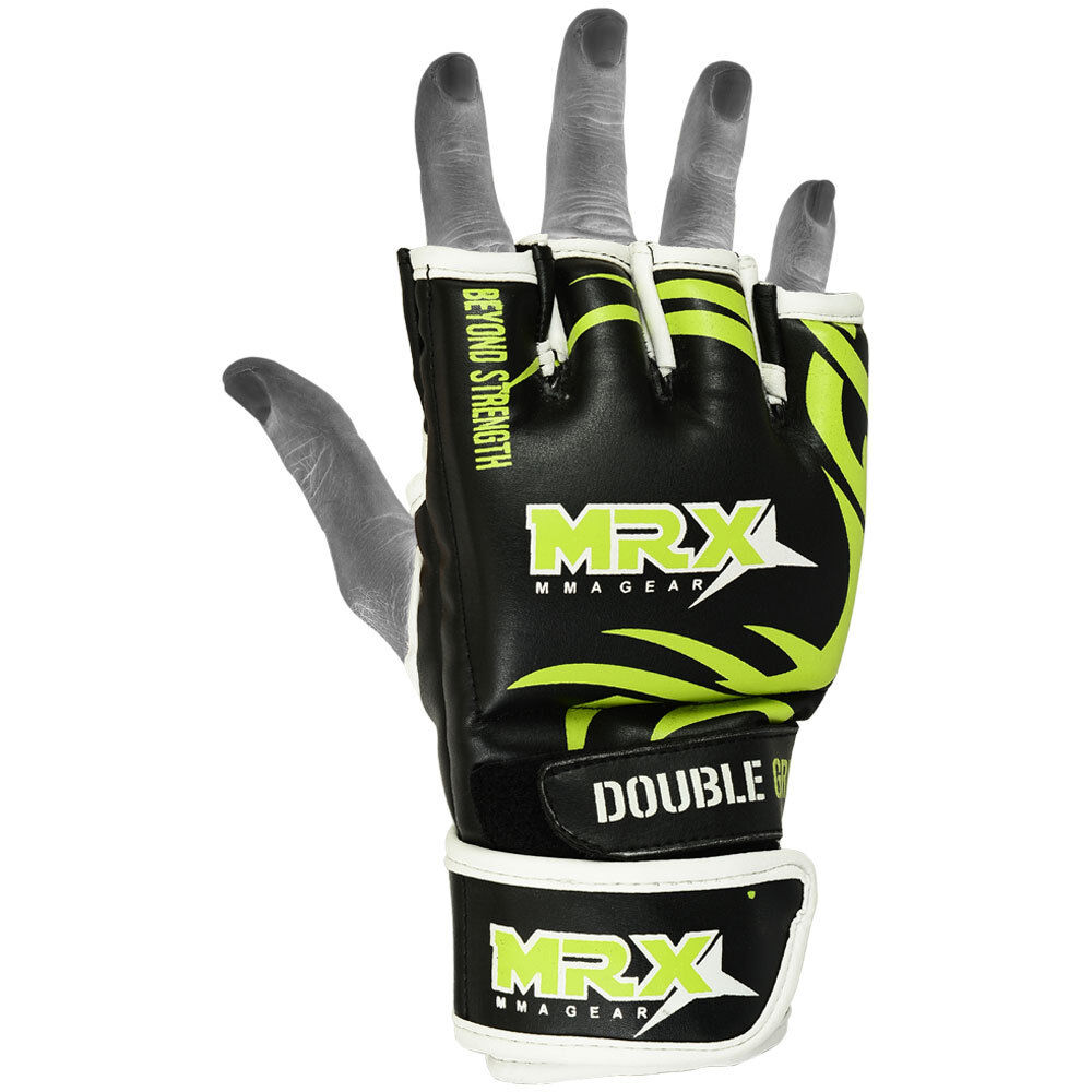 MMA Fight Gloves UFC Cage Grappling Glove Boxing Muay Thai ...