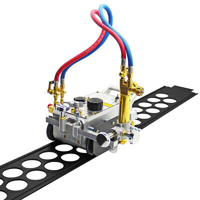 110v Automatic Gas Cutting Machine Portable Track Torch Burner Hk-12