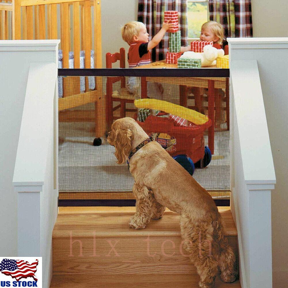 Baby Safety Gate Child Toddler Pet Dog Cat Door Indoor Fence