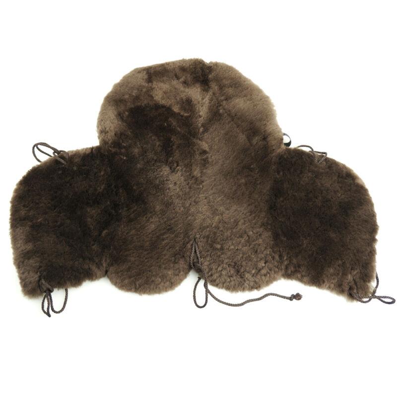 Sheepskin Western Saddle Seat Saver Deluxe Merino Fleece Horse Saddle Cover Pad