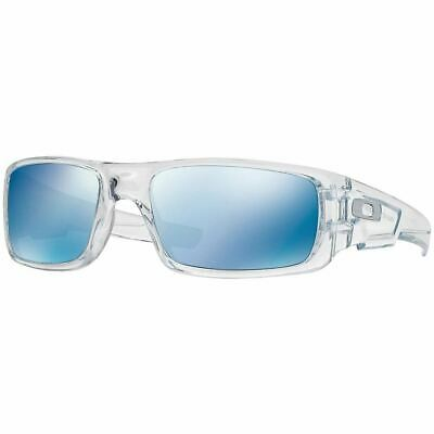Oakley Crankshaft Men's Sunglasses W/Ice Iridium Mirrored Lens OO9239-04