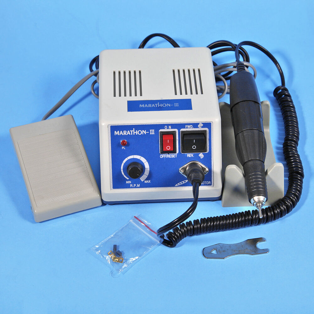NEW USA DENTAL LAB MARATHON ELECTRIC MICROMOTOR POLISHING N3+35K RPM MOTOR HANDPIECE