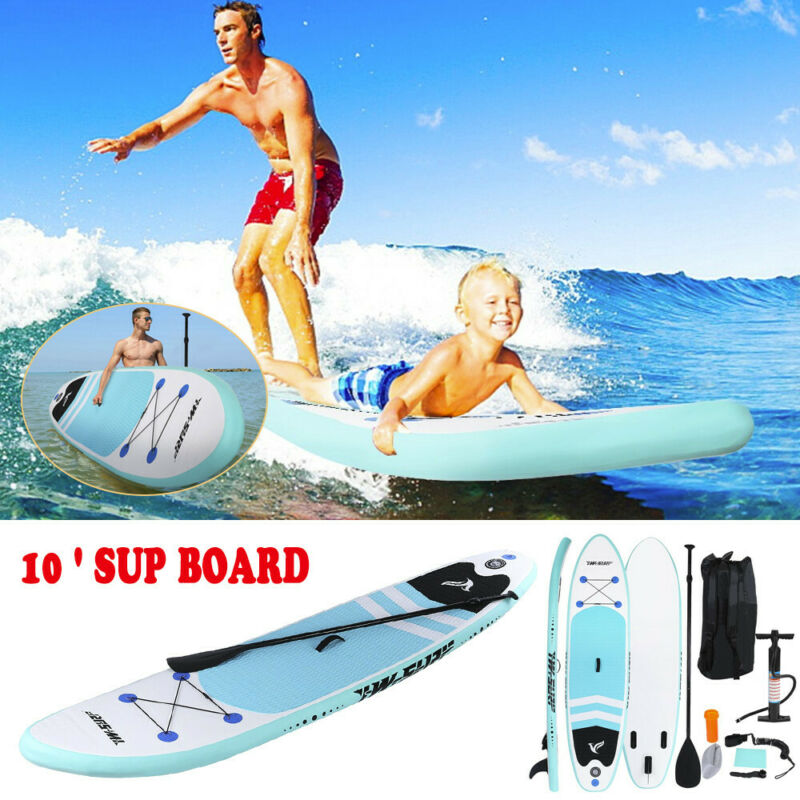 inflatable sup stand up paddle board 10ft