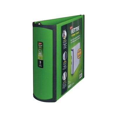 Staples Better 3-inch D 3-ring View Binder Green 19936 892167