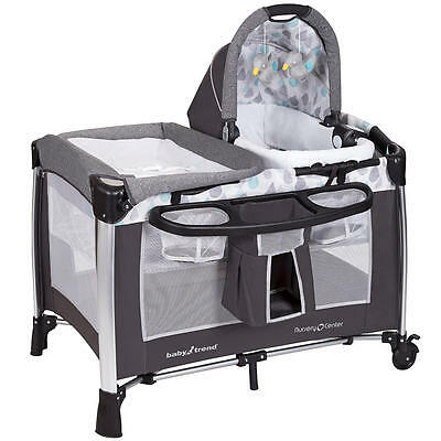 Baby Trend Go Lite Elx Nursery Center Playard Drip Drop