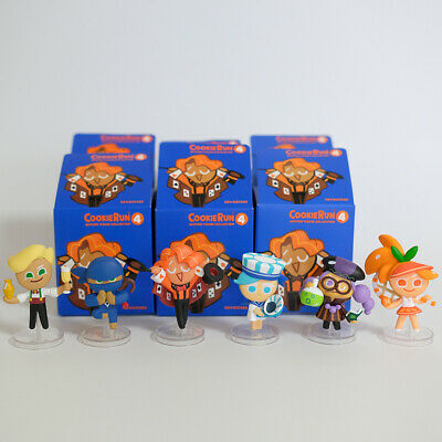 Cookie Run Official Mini Figures Season 4 All Characters Set New Open Box