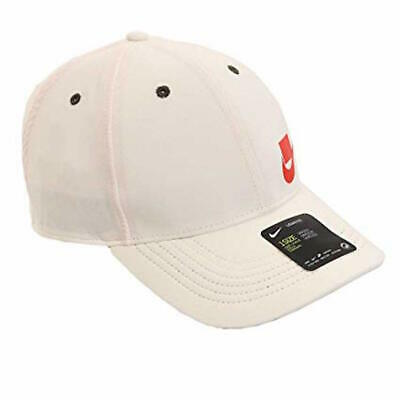 Nike AeroBill Legacy 91 Training Cap Hat Off White/Red Mens Womens CI2965-110