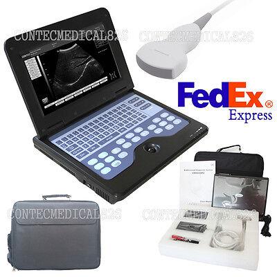 Portable Laptop Machine Digital Ultrasound Scanner 3.5 Convex Probeusa Fedex