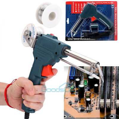 Manual Soldering Gun Electric Iron Automatic Soldering Machine Kit Tool 110v New