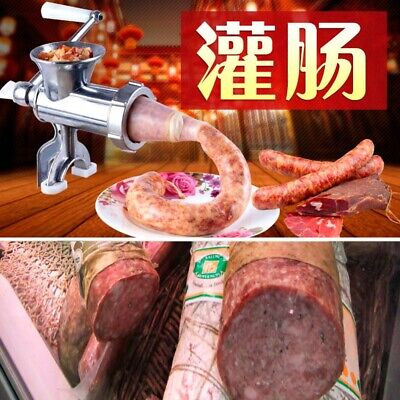 Meat Grinder Sausage Stuffer Filler Tools Filling Machine Aluminium Alloy Manual