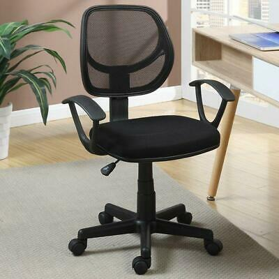 Hight Back Drafting Chair Stool Mesh Swivel Armrest Computer Office Task Seat