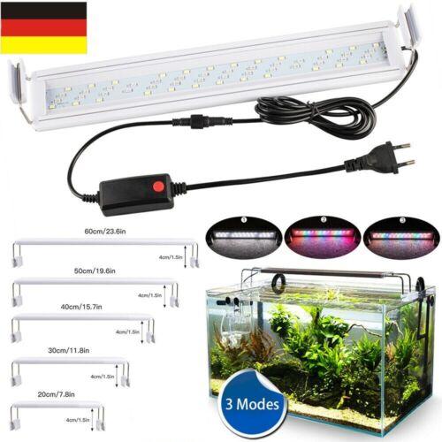 LED Aquarium Beleuchtung Aufsetzleuchte Abdeckung bunt Vollspektrum Lampe Light