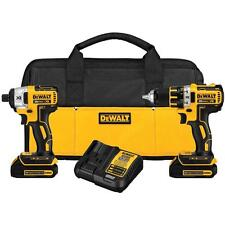 DeWalt DCK281C2R 20V MAX* Li-Ion Brushless Compact Drill and Impact Driver Combo