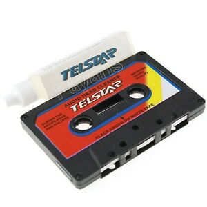 New Audio Cassette Head Cleaner Kit Tape Player Maintenance