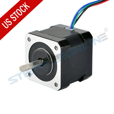 Nema 17 Stepper Motor Bipolar 64oz.in 2a 42x42x40mm 4 Wires 1m Cable 3d Printer