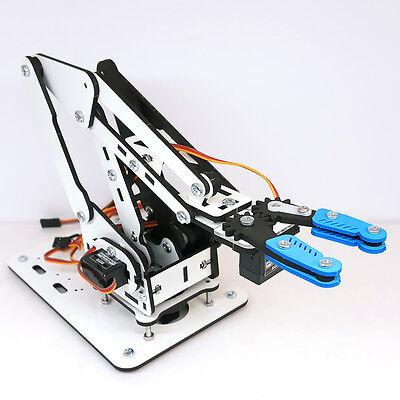 Robot Arm Kit ArmUno 2.0, MeArm & Arduino Compatible, Servo Motors + MeCon App](Robot Kit)