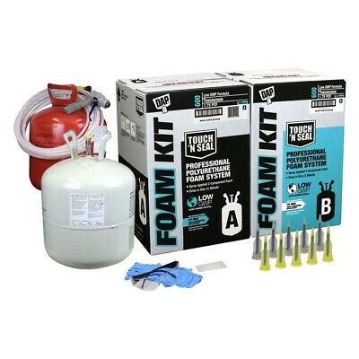 Dap Touch N Seal 600 Bf Low Gwp 1.75 Pcf Fr Closed Cell Spray Foam Insulate Kit