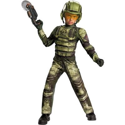 Foot Soldier Muscle Chest Costume Size Small (4-6) NEW](Foot Soldier Costume)