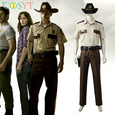 Rick Grimes Cosplay Sheriff Costumes of The Walking Dead SE.1 Full Set