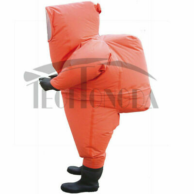 Fully Enclosed Chemical Protective Anti-liquid-ammonia Suit Heavy Type Work Care