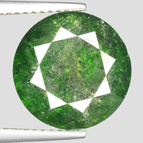 """HUGE! 9.07cts 20.3mm Bottle Green Natural Loose Diamond """"SEE VIDEO"""""""